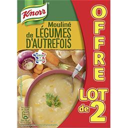 Knorr Knorr Les classiques - soupe moulinée aux légumes d'autrefois le lot de 2 briques d'1l