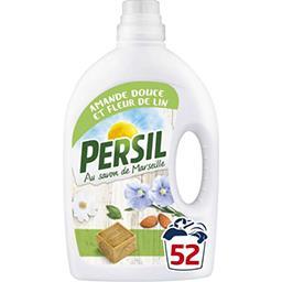 Persil Persil Lessive liquide peau sensible amande douce & fleur de lin le bidon de 2,6 l