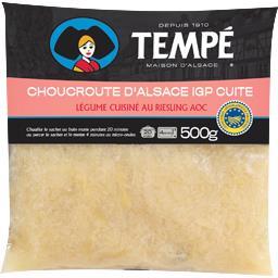 Véritable choucroute d'Alsace au Riesling et graisse d'oie