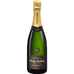 Nicolas Feuillatte Nicolas feuillatte grande reserve Champagne brut, Nicolas Feuillatte grande reserve Le carton de 3 bouteilles de 75cl