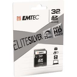 Carte mémoire micro SDHC 32GB Class4 Elite Silver