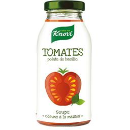 Knorr Knorr Soupe tomates pointe de basilic la bouteille de 0,45 l