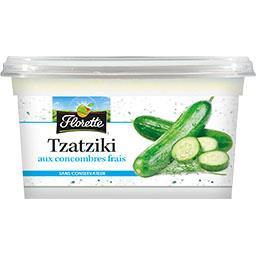 Tzatziki aux concombres frais