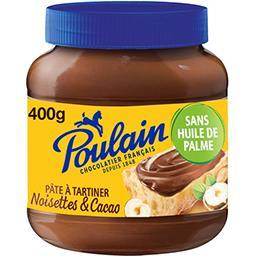 Poulain Poulain Pâte à tartiner noisettes & cacao le pot de 400 g
