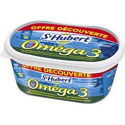 St Hubert St Hubert Oméga 3 - Margarine demi-sel la barquette de 510 g - offre spéciale