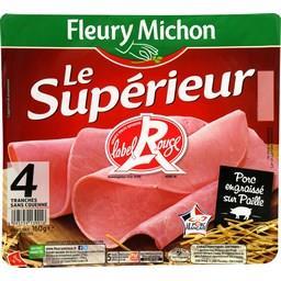 Le Supérieur - Jambon sans couenne Label Rouge