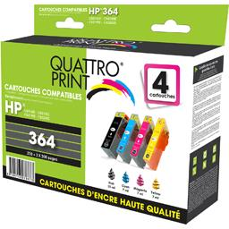Pack cartouches d'encre compatibles HP364