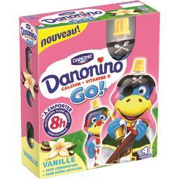 Danonino - Spécialité laitière Go vanille