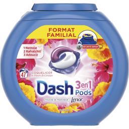 3en1 pods coquelicot lessive en capsules 47 lavages