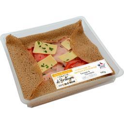 Galette chiffonnade de jambon & emmental
