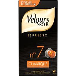 Café Espresso Classique n°7 en capsules