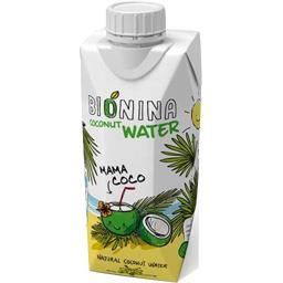 Bionina Eau de coco BIO la brique de 330 ml