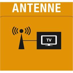 Adaptateur coaxial antenne terrestre 9mm mâle/9,5mm femelle