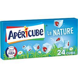 Apéricube Apéricube Fromage fondu Le Nature la boite de 24 cubes - 125 g