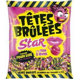 Bonbons Têtes Brûlées Star goût framboise