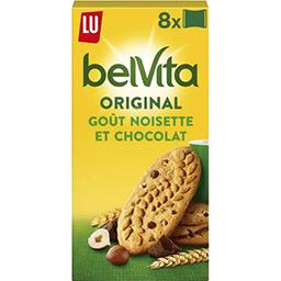 Belvita Petit Déjeuner - Biscuits goût noisette et c...