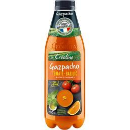 Créaline Créaline Gazpacho tomate basilic la bouteille de 950 ml