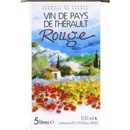 Vin rouge de pays de l'Hérault