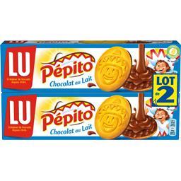 Pépito - Biscuits nappés chocolat au lait