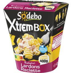 Xtrem Box - Radiatori lardons raclette