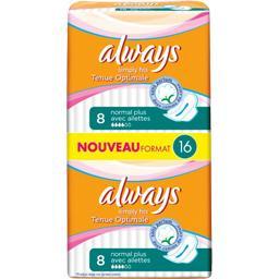 Simply Fits - Serviettes hygiéniques Normal Plus