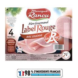 Jambon supérieur avec couenne Label Rouge