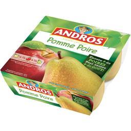 Dessert de pomme poire