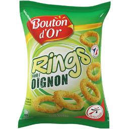 Biscuits apéritif Rings goût oignon