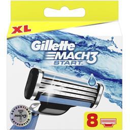 Gillette Gillette Mach 3 - Lames de rasoir la boite de 8