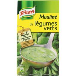Mouliné de légumes verts