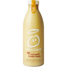Innocent Innocent Smoothie ananas, banane & coco la bouteille de 750 ml