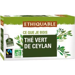 Ethiquable Thé vert de Ceylan BIO