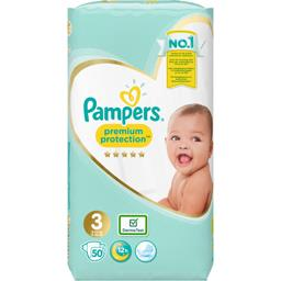Pampers Premium protection - taille 3 6-10 kg - couches