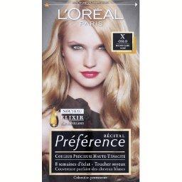 L'Oréal Récital Préférence - Coloration permanente, blond cl...