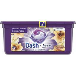 Dash Dash Lessives en capsules souffle précieux La boite de 25lavages