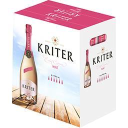 Kriter Kriter Vin mousseux rosé les 6 bouteilles de 75 cl
