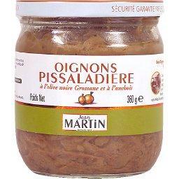Oignons pissaladière à l'olive noire et à l'anchois