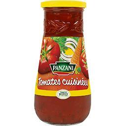 Sauce tomates cuisinées tomates 100% fraîches