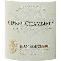 Gevrey Chambertin Jean Bouchard vin Rouge 2014