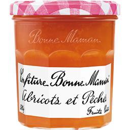 Bonne Maman Bonne Maman Confiture abricots et pêches le pot de 370 g
