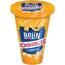 Belin Croustilles - Biscuits apéritif au bon goût d'emment... la boite de 65 g
