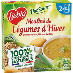 Liebig Liebig Pur'Soup - Mouliné de légumes d'hiver les 2 briques de 30 cl