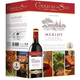 Merlot, vin rouge
