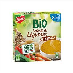 Liebig Liebig BIO - Velouté de légumes & quinoa BIO les 2 briques de 30 cl