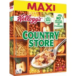 Kellogg's Kellogg's Muesli Country Store avec céréales complètes et fruits secs la boite de 750 g