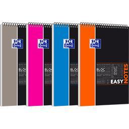 Oxford Oxford Easynotes étudiants A4 90 g Q5/5 coloris assortis le bloc de 160 pages