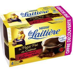 Nestlé La Laitière Le Petit Pot de Crème au chocolat extra-noir