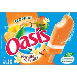 Oasis Glaces vanille tropical