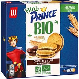 LU LU Prince - Mini biscuits chocolat au lait BIO la boite de 140g