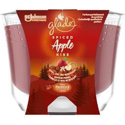 Glade Bougie parfumée senteur pomme, cannelle et noix de m... la bougie de 224 g
